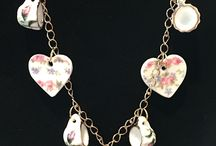 Tea Cup and Teapot Necklaces