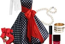 1950's Party and Fashion Themes for Parties.