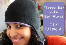 Fleece Hats - Sewing / Patterns and tutorials for sewing fleece hats
