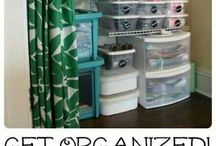 Home Organization / Brilliant ideas to keep toys, clutter and everything else in its place.