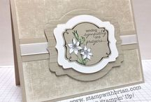 Stampin' Up! - Sympathy Cards
