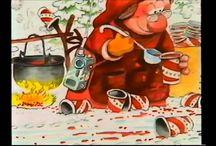 Jouluvideoita ja -tarinoita