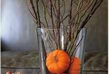 fall decorations / by Christine Higgins Tetzlaff