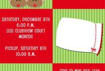 Christmas Pajamas and Pancake Party Ideas