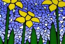 Stained Glass & Mosaics / Stained Glass and Mosaic Projects that inspire me.