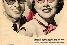 Lunettes années 40-50