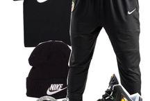 setelan pakaian olahraga