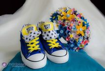 Wedding Converse / Dare to be different! I've seen a lot of bridal converse this year - very cool indeed!