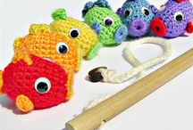 Ideas / Adorable gift ideas and things to make one day - crochet & felt stuff, softies - for baby mostly, but not only.
