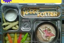 Harry Potter Lunches / Harry Potter themed lunches from What's In Our Lunch Bags? / by Karen Q
