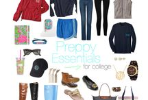 College Life / college, college essentials, preppy college, college guides for girls, college fashion, college advice & tips, college study tips & motivation