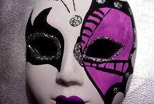 mascara eva