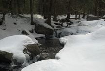 BLACKHEAD/BLACK DOME/THOMAS COLE MOUNTAINS-WINTER (CATSKILLS NEW YORK) / Pictures from my hike on 3-17-2013.