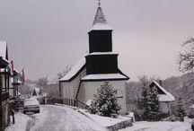 Hollókő church