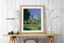 Art | The Modern Garden Edit / Floral masterpieces from Monet to Klimt are brought together in this collection of beautiful framed prints. Capturing gardens as a place of solace, escape and innovation, dive in and discover a picturesque painting for your wall.