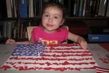 Patriotic American Kids' Crafts / Fourth of July (Independence Day), Flag Day, and Memorial Day Patriotic Crafts and Homemade Snacks for Kids. #July4 #FourthofJuly #IndpendenceDay #MemorialDay