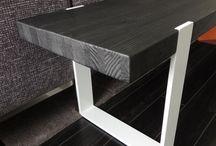muebles madera hierro
