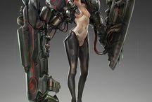 Robot's and Mecha's