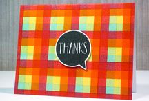Neat and Tangled - Thank you Cards