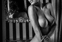 Black & White Glamour /  ArteFotografia blanco y negro con glamour