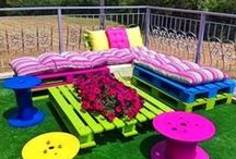 Kids outdoor play areas