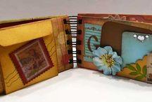 Mini albums toilet paper roll  / by Tinna Kolafa
