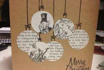 christmas postcard diy