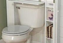 Toilet storage space