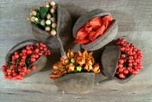 Autumn / Warm autumn colours and seasonal flowers for weddings