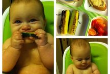 Feeding the babe / Baby and toddler food ideas.