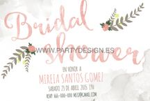 Invitaciones Bridal Shower