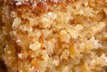 Tortas/pasteles/ postre /dulces