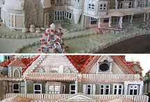 Gingerbread houses!!! / gingerbread houses &others