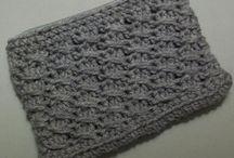 crochet bags / pouches