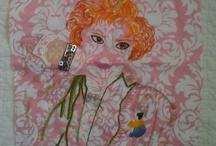 Popped Stitches / Modern Cross Stitch and Embroidery, all original art work by Melissa McCullough