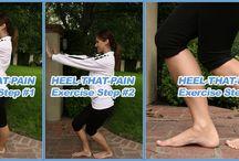 heel pain / by Christy Handzo