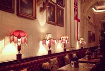 Places to Go / Places to eat, drink or be entertained with a vintage or retro vibe.