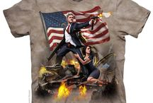 Americana / We make a lot of T-shirts with a lot of different subjects. One we always return to? AMERICA.