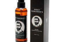 Percy Nobleman EU / Percy Nobleman's Bartpflege | Bartöl | Bart Balsam und mehr