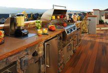 Outdoor Kitchens / Custom designs by Colorado Custom Decks & Mosaic Outdoor Living & Landscapes. http://coloradodecks.com/