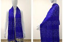 Bandhani Dupatta / Bright and beautiful bandhani dupattas, made by traditional tie n dye process. Heavy Gajji silk, banarasi dupattas to add grace to your dress. Pretty patterns to make you go wow!   To buy visit: http://www.sankalpbandhej.com/  for more designs/collaborations: Call/Whatsapp: 91-9377399299