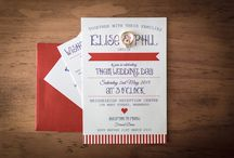 Invitations / Some lovely shots of invitations from our weddings