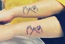 Siostrzane tatuaże