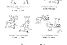 Exercise / Work Outs and exercises