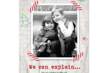 Holiday Photo Cards by Dizzy Design