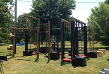 Crossfit for the backyard / Staying fit on backyard play equipment #funkymonkeybars