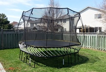 Trampoline Assembly Services / Trampoline assembly is dangerous, do not try this at home