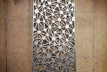 Laser cut facade