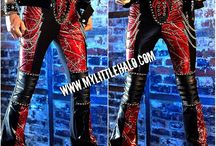 Mens Glam Metal Clothing Collection