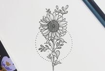 sunflowertattoo